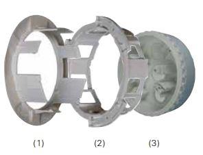 Detectors Ceiling Tile Adaptors